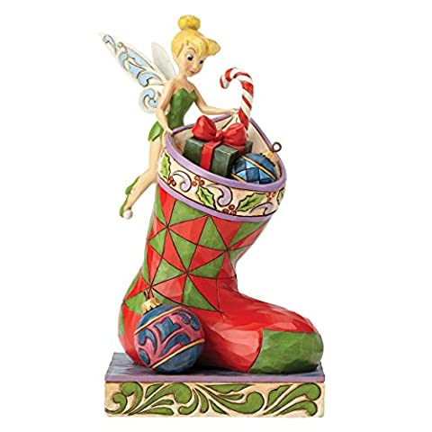 Disney Traditions Stocking Stuffer Tinker Bell Figurine, Multi-Colour