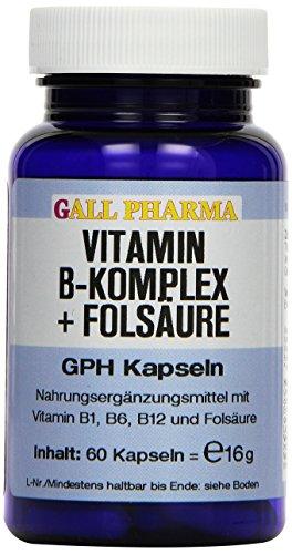 Gall Pharma Vitamin B-Komplex GPH Kapseln, 1er Pack (1 x 60 Stück) -