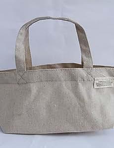BEAUTS borsa a tracolla delle donne carino cotone e lino shopping bag a mano