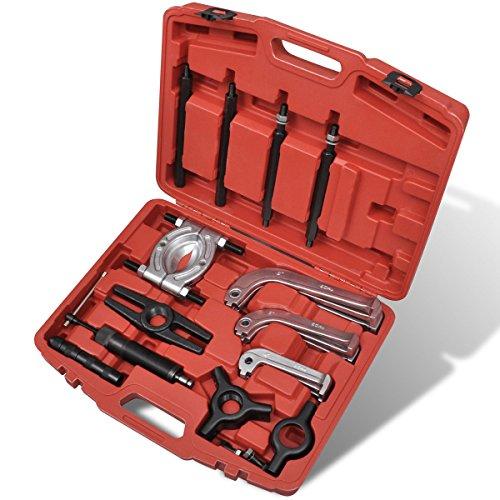Preisvergleich Produktbild vidaXL 25 tlg. Radlager Radlagerabzieher Abzieher Hydraulische Puller Separator Set