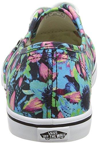 Vans Authentic Lo Pro, Sneakers Basses Mixte Adulte Multicolore (Floral Mix/Black/Turquoise)