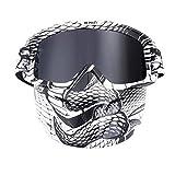 Daesar Sportbrille Nacht Motorrad Brille für Brillenträger Sicherheitsbrille Damen Grau A04