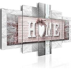 murando Impression sur Toile intissee 200x100 cm 5 Parties Tableau Tableaux Decoration Murale Photo Image Artistique Photographie Graphique Home m-C-0244-b-m