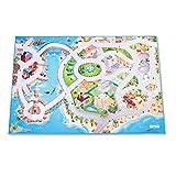Leisure Spielteppich Stadt und Meer - Rutschfest 100 x 150 cm