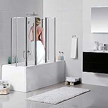 Suchergebnis auf Amazon.de für: Badewannenaufsatz MIT Seitenwand | {Duschabtrennung glas badewanne 73}