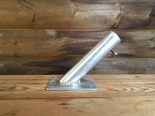 Support de mât en aluminium
