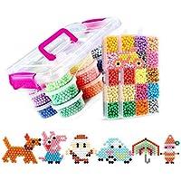ce483966ec51 8400 UNIDS 30 Colores Fusible de Agua Craft Sticky Kit Set para Niños Niños  DIY Crafting