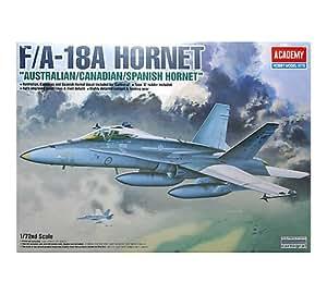 Academy 12419 F-18A Hornet F18 1:72 Plastic Kit