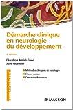 Image de Démarche clinique en neurologie du développement