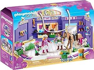 Playmobil- Tienda de Equitación Juguete, (geobra Brandstätter 9401)