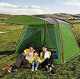 METTE Beach Camping Zelte, tragbare Outdoor-Zelt leichte Sonnencreme wasserdicht Anti-Moskito Doppel-Account Backpacking für Camping Wandern (300 * 300 * 215cm)