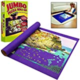 GLOW Giant Jigsaw Wasgij Puzzle Roll up Mat - Great for Puzzles up