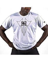 Mens T-Shirt, weiß und schwarz