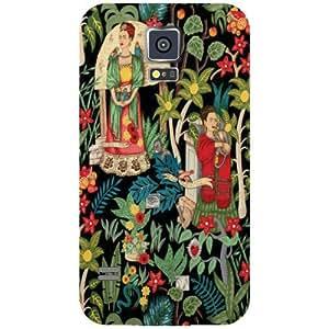Samsung Galaxy S5 Artistic Matte Finish Phone Cover - Matte Finish Phone Cover