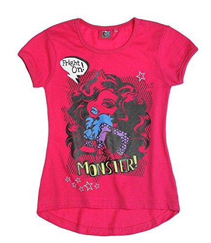 Monster High Kurzarmshirt pink (164) (T-shirt Monster High)
