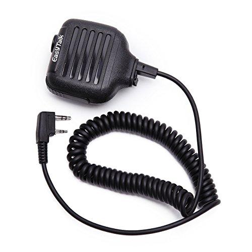 EASYTALK Lautsprecher Funkgeräte Handheld Mikrophon für QUANSHENG PUXING WOUXUN TYT BAOFENG UV5R KENWOOD Funkgeät