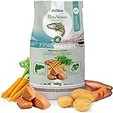 AniForte Natürliches Hunde-Futter Trockenfutter Fjord-Salmon 14kg, Frischer Lachs mit Kartoffeln, 100% Natur, Allergiker, Getreide-Frei, Glutenfrei, Ohne Chemie, künstliche Zusätze und Vitamine