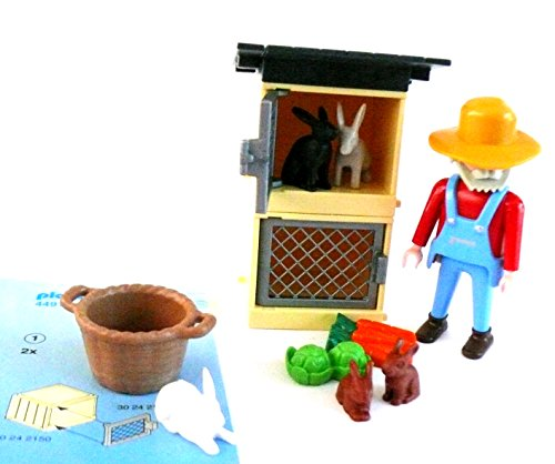playmobil ® 4491 Bauer Hasenstall Kaninchenstall Kaninchen Hasen Beschreibung