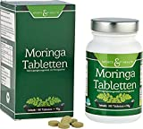Moringa Kapseln – Moringa Tabletten- BIO DE-ÖKO-007 - 180 vegane Bio Moringa Kapseln - Ohne Magnesiumstearat - Reich an Aminosäuren - Moringa olifeira von Sports & Healthist absolut natürlich