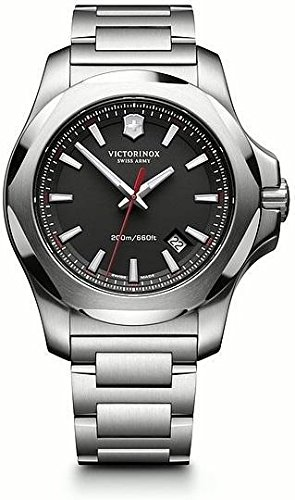 Victorinox Swiss Army Men's Quartz Watch with i.n.o.x. Analogue Quartz Stainless Steel 241723.1