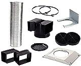 Siemens LZ55650-Accessoires pour cheminée (Extracteur kit Bosch DWK06G620 DWK06G660 DWK09G620 DWK09G660)