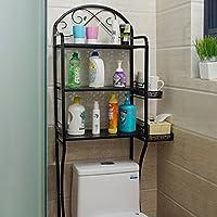 Bagno WC WC Mensola Piano vetrine Ripiani toilette di lavaggio