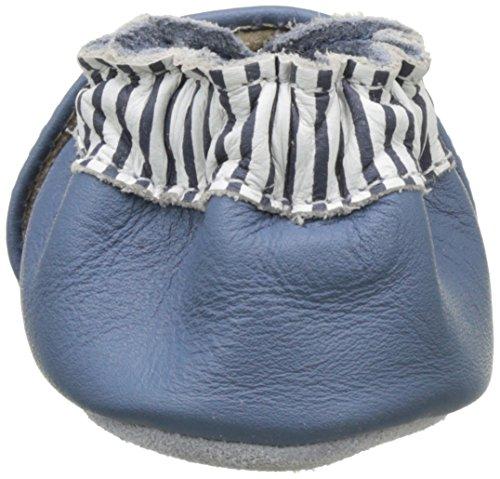 Robeez Octopussy Navy, Chaussures de Naissance Bébé Garçon Bleu (Bleu)