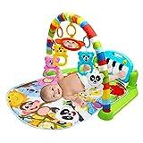 Bebé estera del juego del niño de gimnasia Manta piano de juguete pedal marco de la aptitud con la música