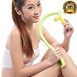 SPJ: Acupressure Trigger Point Manual Massage Tool Back Hook Germanium Self Massager Stiff Neck Remove