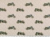 Zanderino ab 1m: Baumwolle, Digitaldruck, Motorräder,