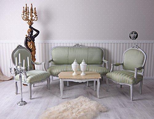 Sitzgarnitur Barockstil Sofa Barock Frankreich Salon Garnitur Sitzmöbel Palazzo Exklusiv