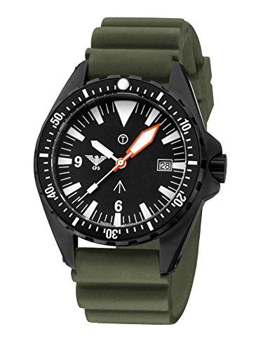 KHS Tactical Watches MissionTimer 3 | Index KHS.MTI.DO Militär Armbanduhr
