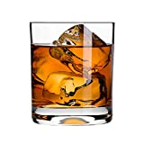 #8: Krosno Europe Non-Lead Crystal-Clear Glass, Lifestyle Whiskey Tumbler, 300 Ml Set of 6