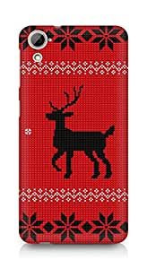 AMEZ Christmas sweater Back Cover For HTC Desrie 826