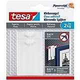 tesa® Klebenagel für Tapeten und Putz (2 kg / 3er Pack = 6 Nägel)