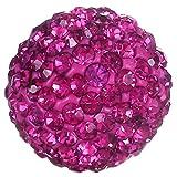 Morella® Damen Engels Klangkugel Zirkonia pink Ø 16 mm