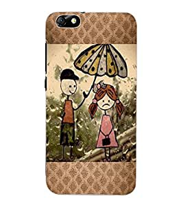 ColourCraft Cartoon Drawing Design Back Case Cover for HUAWEI HONOR 4X