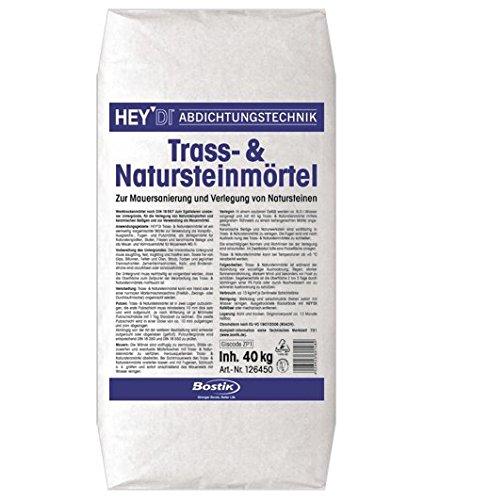 Bostik Ardafix Natura Hey Di Trass und Natursteinmörtel 40kg Sack