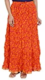 Rangreja Women's Skirt (WSK130RO36_Orang...
