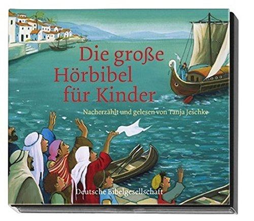 Die große Hörbibel für Kinder: 2 CDs im Digipack