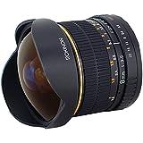 Rokinon FE8M-C 8mm F3.5 Fisheye Fixed Lens for Canon (Black)
