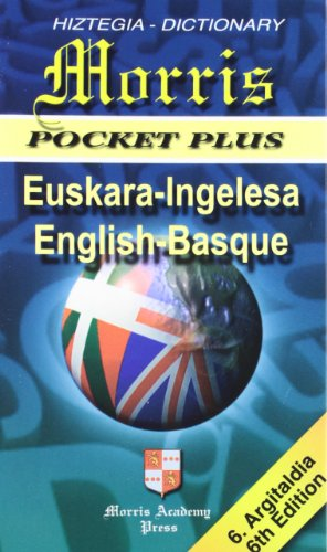 Morris Pocket Plus Eus/ing - Eng/basque por Aa.Vv.