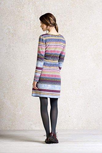 Ivko V-Neck Dress with Pleats stone (62521) Gr.38 o.