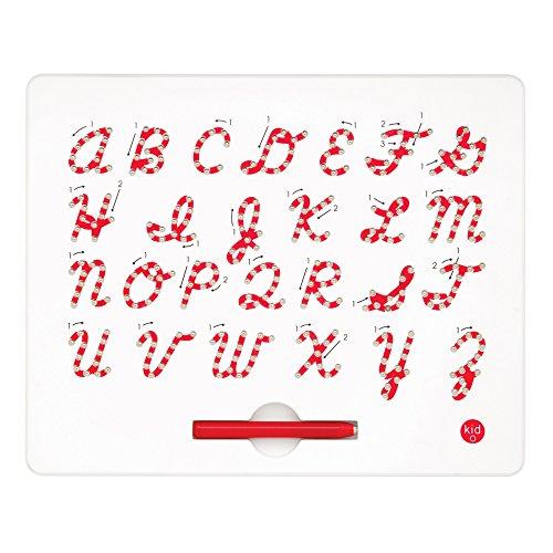 Kid O 1710363 - Magnatab kursiv mit Grossbuchstaben, Schreibenlernen in Schreibschrift, magnetisch