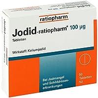 Jodid-ratiopharm 100μg 50 stk preisvergleich bei billige-tabletten.eu
