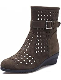 KUKI Sandalias transpirables con zapatos de danza de cuevas Zapatos modernos de danza cuadrada , 3 , US8.5/ EU40...