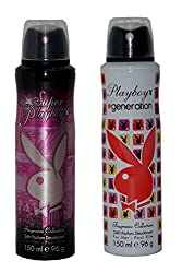 PLAYBOY Pack of 2 Women Deo