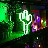 Luces Decorativas,niceEshop(TM) Lámpara de Neón con LED por Batería o Cable USB para Decoración...