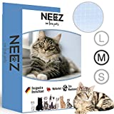 NEEZ Filet de Protection pour balcons et fenêtres I Filet de Protection Transparent...