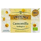 Twinings - Camomilla biologica - 3 confezioni da 20 Grammi